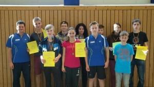 Landesrangliste U13 und U17 in Malchin