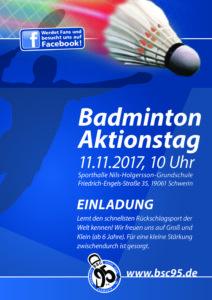 Badminton-Aktionstag