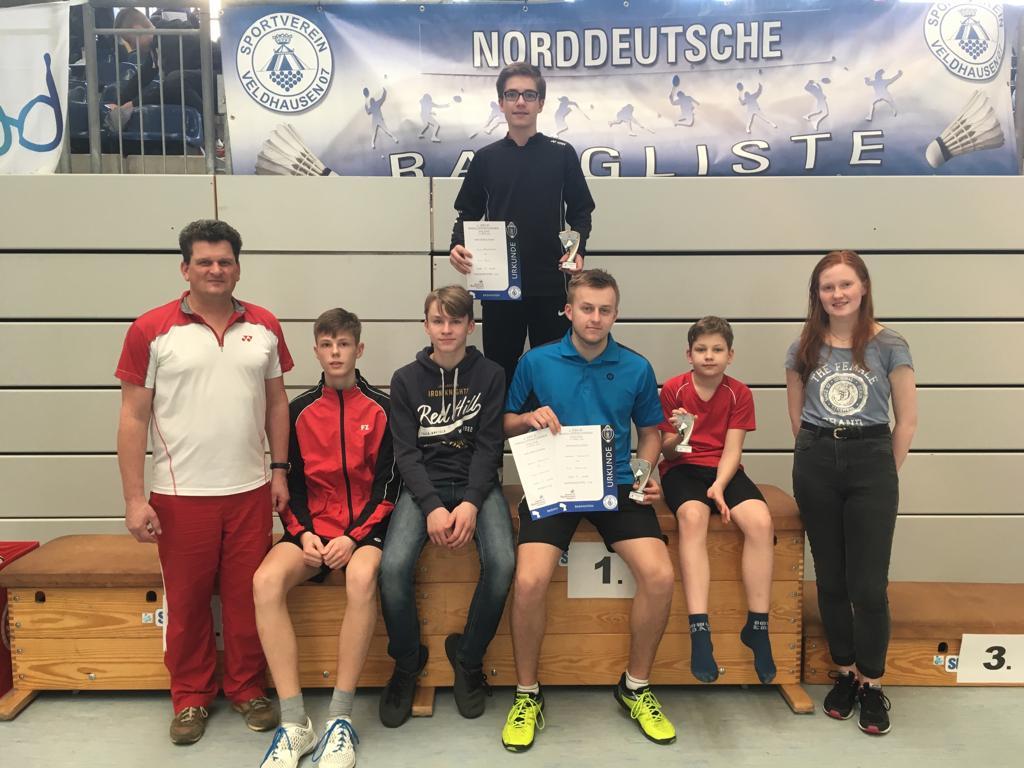 2. Norddeutsche Rangliste U13-U19