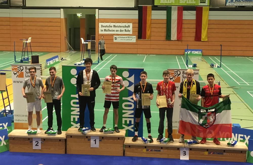 Erfolg bei der Deutschen Meisterschaft