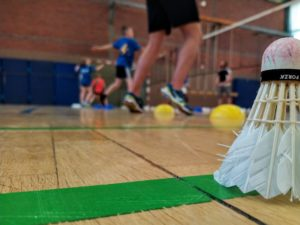 Training beim BSC 95 Schwerin / 100% Badminton